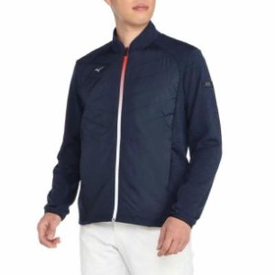 ストレッチフリースフルジップミドラーシャツ(メンズ) MIZUNO ミズノ ゴルフ ウエア 長袖シャツ (52MC0542)