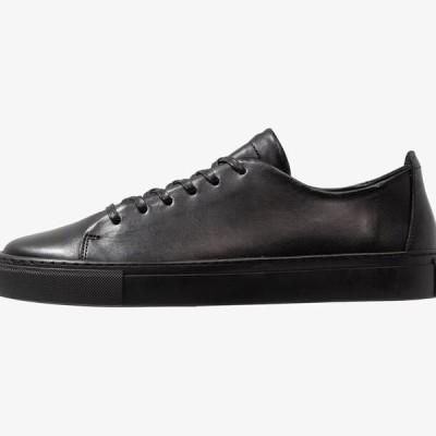 ビアンコ メンズ 靴 シューズ BIAAJAY LEATHER SNEAKER - Trainers - black