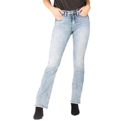シルバー ジーンズ レディース デニムパンツ ボトムス Avery High-Rise Curvy Fit Slim Boot Jeans L94627EPX152