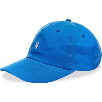 ノースプロジェクト Norse Projects メンズ キャップ 帽子 twill sports cap Himmel Blue