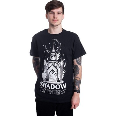 シャドウ オブ インテント Shadow Of Intent メンズ Tシャツ トップス - Burning Church - T-Shirt black