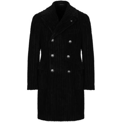 タリアトーレ TAGLIATORE コート ブラック 52 コットン 100% コート