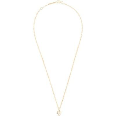 ラナ LANA JEWELRY レディース ネックレス ハート ジュエリー・アクセサリー Solo Mini Heart Diamond Pendant Necklace Yg