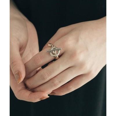 指輪 ボールチェーンマンテルリング
