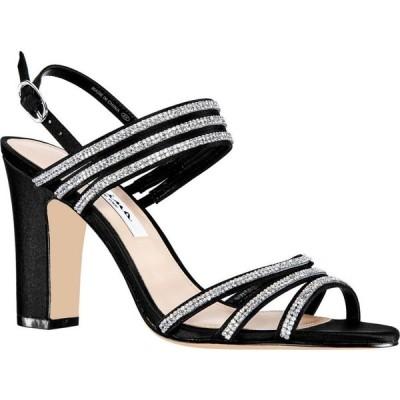 ニナ Nina レディース サンダル・ミュール シューズ・靴 Shandra High Block Heel Sandals Black