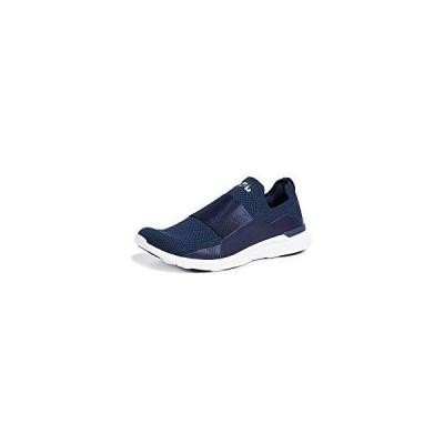 APL: Athletic Propulsion Labs Men's Techloom Bliss Running Sneakers, Navy, Blue, 10.5 Medium US並行輸入品