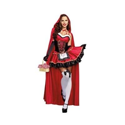 赤ずきん コスプレ仮装 ハロウィン 衣装 コスチューム 女性用 ビスチェ ワンピース  Halloween  パーティー 文化祭 学園祭 忘年会 新年会