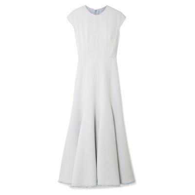 GABRIELA HEARST ロングワンピース&ドレス スカイブルー 40 レーヨン 47% / コットン 41% / ナイロン 12% ロングワ