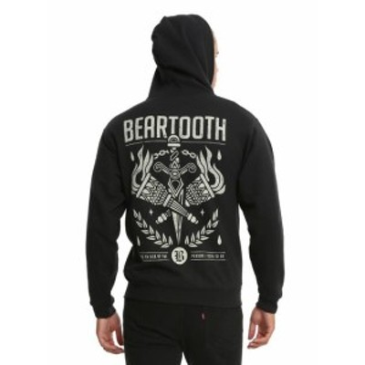 official オフィシャル ファッション トップス Beartooth Sick Of Me Zip Up Hoodie Ohio Logo New With Tag Licensed & Official