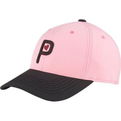 プーマ PUMA レディース キャップ 帽子 Valentine's Golf Hat Pink Lady