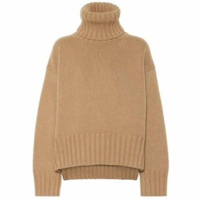 プラダ Prada レディース ニット・セーター トップス Cashmere turtleneck sweater Cammello