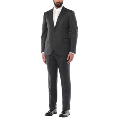 アスペジ ASPESI スーツ 鉛色 54 ウール 100% スーツ