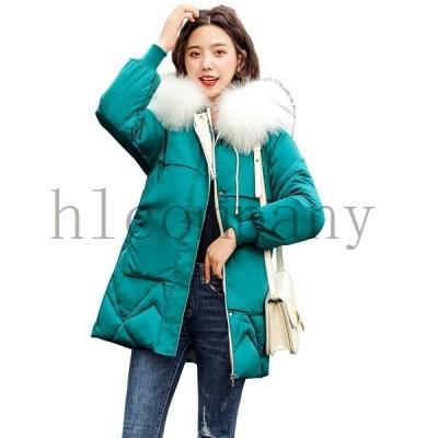 コートレディースフード付きシルエット中綿コートジャケット防寒カジュアル細身