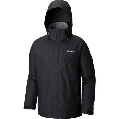 コロンビア ジャケット&ブルゾン アウター メンズ Men's Columbia Bugaboo II Fleece Interchange Jacket Black