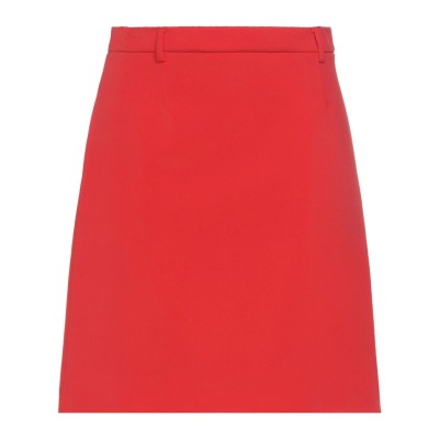 デパートメント 5 DEPARTMENT 5 ひざ丈スカート レッド 29 ポリエステル 100% ひざ丈スカート