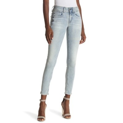 ジースター レディース デニムパンツ ボトムス Lynn Mid Skinny Jeans LT AGED