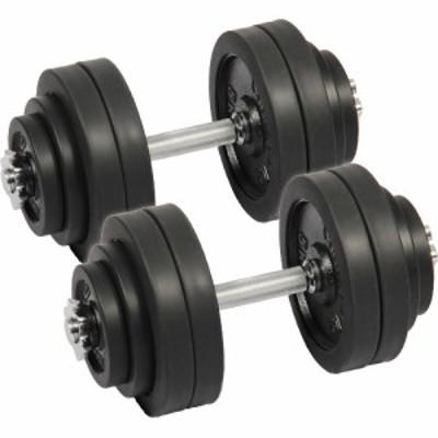 リーディングエッジ ラバーダンベル 60kg セット 片手 30kg 2個セット ブラック LE-DB30 ダンベルセット 【トレーニング器具 スポーツ用