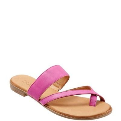 ブエノ レディース サンダル シューズ Jackson Leather Toe Loop Thong Sandals