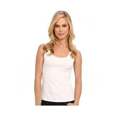 NIC+ZOE ニックアンドゾー レディース 女性用 ファッション ブラウス Petite Perfect Tank - Paper White