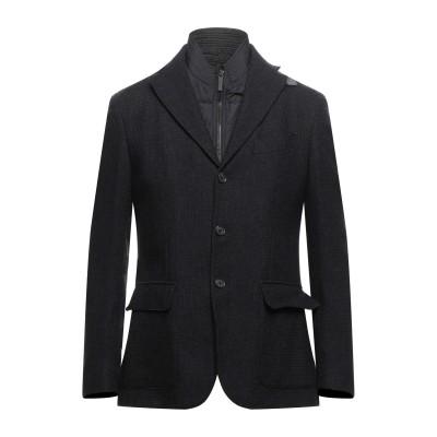 CC COLLECTION CORNELIANI テーラードジャケット ブラック 50 バージンウール 71% / コットン 25% / カシミヤ