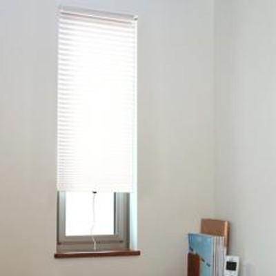 断熱スクリーン 小窓用断熱スクリーン 幅59×丈135cm 突っ張り棒付き ハニカムシェード ホワイト ( 小窓 カーテン シェード 小窓カーテン 小窓シェード 小窓用 縦長 幅60 丈135 断熱 つっぱり棒 突っ張り棒 ハニカム構造 棒付き )