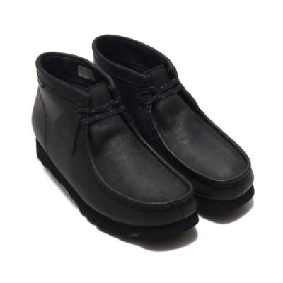 クラークス Clarks ブーツ ワラビーブーツ GTX (BLACK LEATHER) 19FA-I