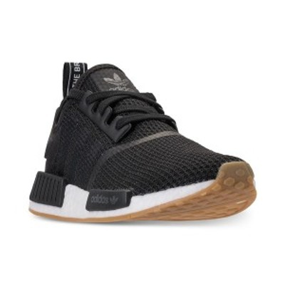 アディダス メンズ スニーカー シューズ Men's NMD R1 Casual Sneakers from Finish Line CORE BLACK / CORE BLACK /