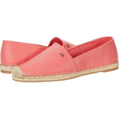 カルバンクライン Calvin Klein レディース ローファー・オックスフォード シューズ・靴 Vez Tumbled Smooth Coral