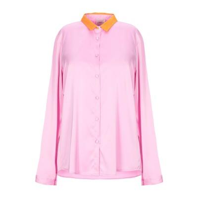 メルシー ..,MERCI シャツ ピンク S ポリエステル 94% / ポリウレタン 6% シャツ