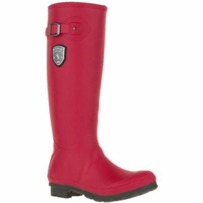 カミック Kamik レディース レインシューズ・長靴 シューズ・靴 Jennifer Rain Boots Dark Red