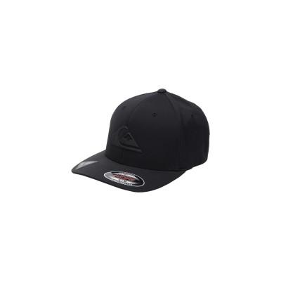 クイックシルバー QUIKSILVER 帽子 ブラック S/M ポリエステル 92% / ポリウレタン 8% 帽子