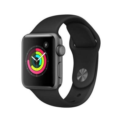 Apple Watch Series 3 GPSモデル 38mm MTF02J/A ブラックスポーツバンド