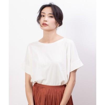 tシャツ Tシャツ ecru【汗染み防止】クルーネックワイドTシャツ