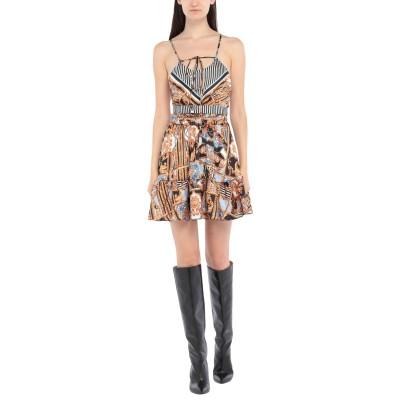F**K PROJECT ミニワンピース&ドレス ブラック M ポリエステル 100% ミニワンピース&ドレス