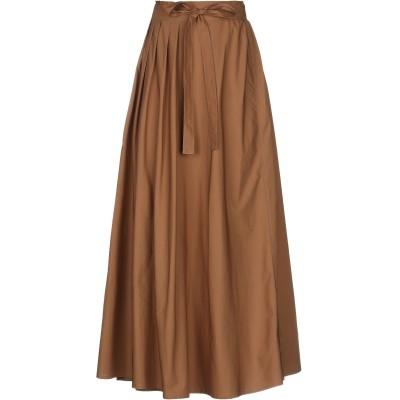 ロベルト コリーナ ROBERTO COLLINA ロングスカート カーキ XS コットン 100% ロングスカート