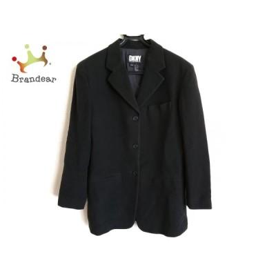 ダナキャラン DKNY コート サイズ6 M レディース 訳あり 黒 冬物  スペシャル特価 20210108