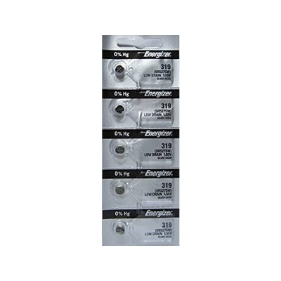 特別価格エナジャイザー電池319(SR527SW)酸化銀時計電池。開封帯オン(5パック)好評販売中