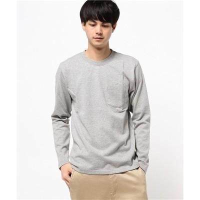 tシャツ Tシャツ 【HOUSTON】ヘビー天竺長袖Tシャツ