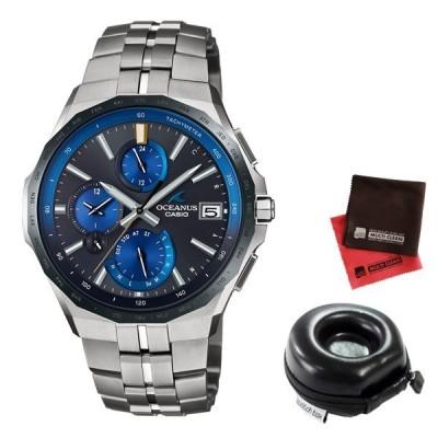 【ポイント10倍】(時計ケース丸型・クロスセット)(国内正規品)(カシオ)CASIO 腕時計 OCW-S5000E-1AJF (オシアナス)OCEANUS メンズ 最薄マンタ Bluetooth搭載