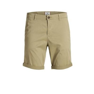 ジャック アンド ジョーンズ メンズ ハーフパンツ・ショーツ ボトムス Men's Bowie Chino Shorts
