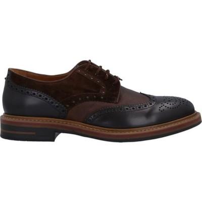 ブリマート BRIMARTS メンズ シューズ・靴 laced shoes Dark brown