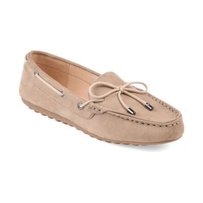ジャーニーコレクション サンダル シューズ レディース Women's Comfort Thatch Loafers Taupe
