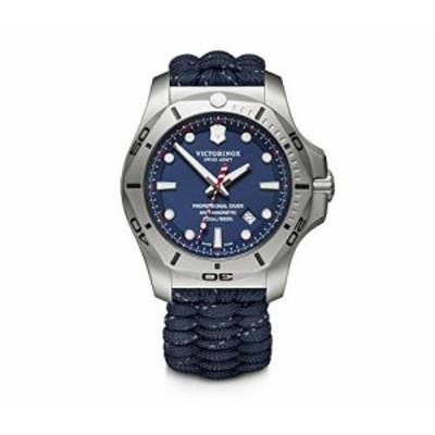 腕時計 ビクトリノックス スイス Victorinox I.N.O.X. Professional Diver Blue Dial Men's Watch 2418