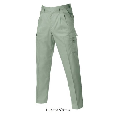バートル BURTLE 春夏 625 ツータックカーゴパンツ 男女兼用 70-88 全4色