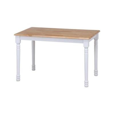 ダイニングテーブル マキアート WH×NA