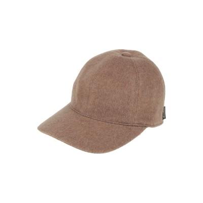 ボルサリーノ BORSALINO 帽子 キャメル 59 バージンウール 100% 帽子