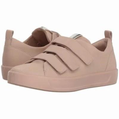 エコー スニーカー Soft 8 Strap Sneaker Rose Dust Steers Leather