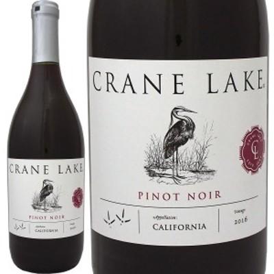 クレインレーク・カリフォルニア・ピノ・ノワール 2016【Crane Lake】【赤ワイン】【750ml】