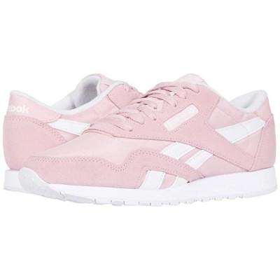 リーボック Classic Nylon レディース スニーカー シューズ 靴 Classic Pink/White/White