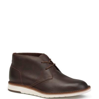 トラスク メンズ ブーツ&レインブーツ シューズ Men's Bardon Chukka Boot Brown